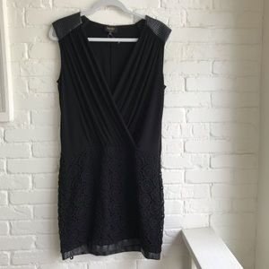Laundry by Shelli Segal black cocktail dress 10